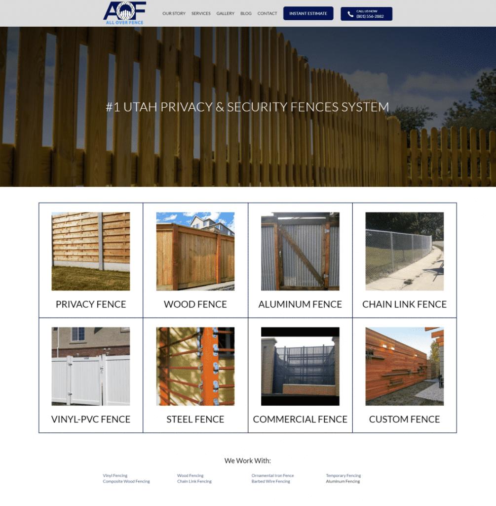 AOF-homepage